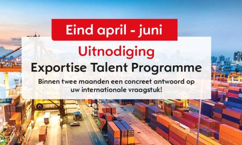 Exportise Talent Programme
